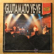 Discos de vinilo: GLUTAMATO YE - YE - HEROES DE LOS 80 L.P.. Lote 32404416