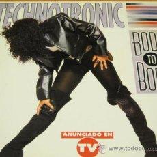 Discos de vinilo: TECHNOTRONIC - BODY TO BODY - LP - MAX 1991 SPAIN NM478LBTV. Lote 32407309