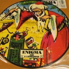 Discos de vinilo: ENIGMA - AGE OF LONELINESS - MX - PICTURE DISC - VIRGIN 1994 UK - EDICION LIMITADA. Lote 120193719