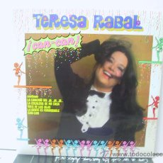 Discos de vinilo: TERESA RABAL - CAN CAN - FONOMUSIC 1984. Lote 222409301