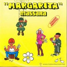 Disques de vinyle: MASSARA - MARGARITA (2 PARTES) - SINGLE 1979 - . Lote 32451803