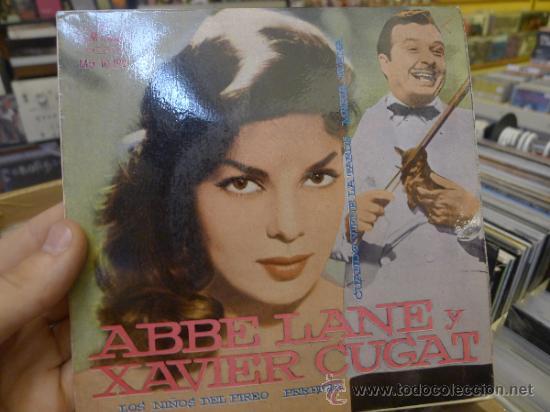 ABBE LANE Y XAVIER CUGAT LOS NIÑOS DEL PIREO PERFIDIA EP SINGLE VINILO (Música - Discos de Vinilo - EPs - Clásica, Ópera, Zarzuela y Marchas)