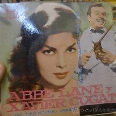 Discos de vinilo: ABBE LANE Y XAVIER CUGAT LOS NIÑOS DEL PIREO PERFIDIA EP SINGLE VINILO . Lote 32423316