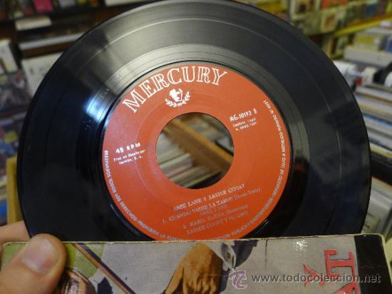 Discos de vinilo: Abbe Lane y Xavier cugat Los niños del pireo Perfidia Ep Single Vinilo - Foto 2 - 32423316