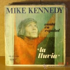 Discos de vinilo: MIKE KENNEDY - LA LLUVIA / GOLDEN MEMORIES - BARCLAY-MOVIEPLAY SN-20.246 - 1969. Lote 32425951