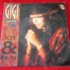 Discos de vinilo: GIGI ( JOY & PAIN(IN THIS WILD, WILD WORLD) RADIO VERSION + SINGLE VERSION ) 1990-HOLANDA SINGLE. Lote 32430332