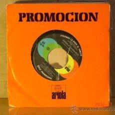 Discos de vinilo: ANGELA CARRASCO - MAMMA / QUERERTE A TI - ARIOLA 0127 - 1979 - PROMOCIONAL. Lote 32431520