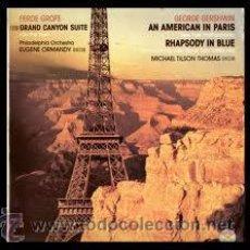 Discos de vinilo: FERDE GROFE / GEORGE GERSHWIN - GRAND CANYON SUITE /AN AMERICAN IN PARIS. Lote 32431962