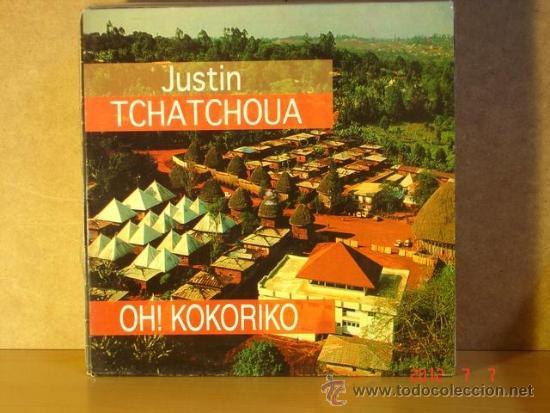 JUSTIN TCHATCHOUA / OH! KOKORIKO / COSAS CLARAS - EMI 052 8 60110 6 - 1994 (Música - Discos de Vinilo - Maxi Singles - Étnicas y Músicas del Mundo)