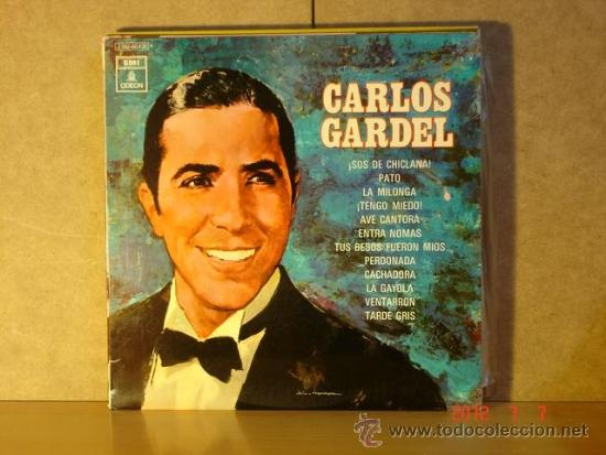 CARLOS GARDEL - IDEM - EMI-ODEON 1 J 060-80.429 M - 1970 (Música - Discos - LP Vinilo - Grupos y Solistas de latinoamérica)