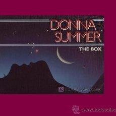 Discos de vinilo: DONNA SUMMER THE BOX CAJA CON 3 LP CON ENCARTE Y LETRA DE CANCIONES FOTO ADICIONAL. Lote 21187224