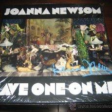 Discos de vinilo: JOANNA NEWSOM **CAT POWER**LAURA MARLING**--BEAUTIFULLY SIGNED/AUTOGRAPH BY JOANNA--BOX 3LP ¡SEALED. Lote 32435509