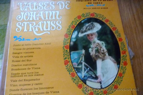 VALSES DE JOHANN STRAUSS (Música - Discos - Singles Vinilo - Clásica, Ópera, Zarzuela y Marchas)