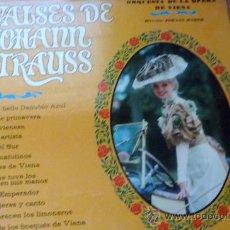 Discos de vinilo: VALSES DE JOHANN STRAUSS. Lote 32436528