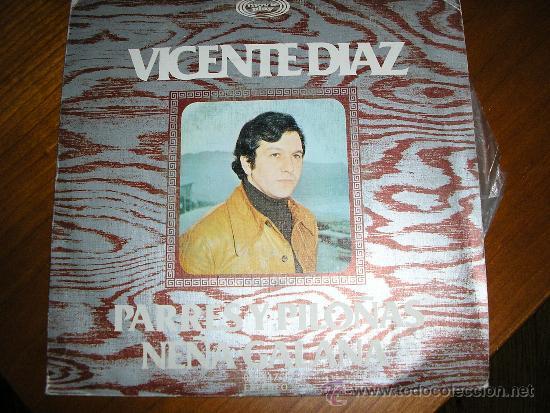 EP VICENTE DIAZ ASTURIAS (Música - Discos de Vinilo - EPs - Country y Folk)