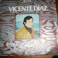 Discos de vinilo: EP VICENTE DIAZ ASTURIAS. Lote 32441849