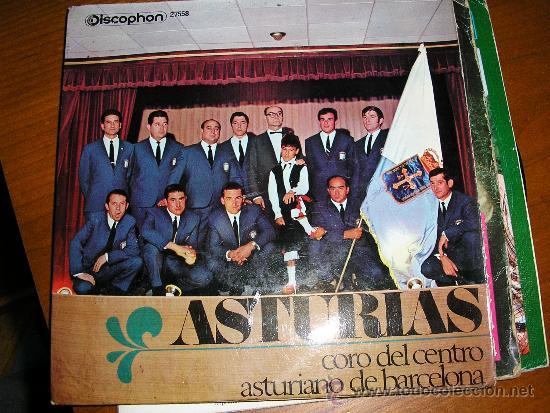 EP CORO DEL CENTRO ASTURIANO DE BARCELONA ASTURIAS (Música - Discos de Vinilo - EPs - Country y Folk)