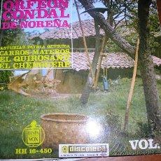 Discos de vinilo: EP ORFEON CONDAL DE NOREÑA ASTURIAS. Lote 32441901