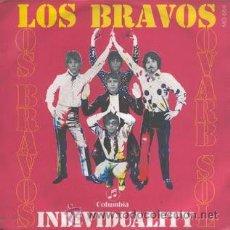 Discos de vinilo: LOS BRAVOS INDIVIDUALITY/ VIVE LA VIDA. Lote 32443134