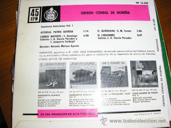 Discos de vinilo: Contraportada - Foto 2 - 32441901