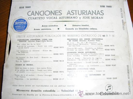 Discos de vinilo: Contraportada - Foto 2 - 32441920