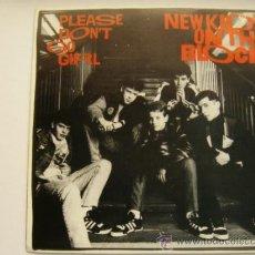 Discos de vinilo: NEW KIDS ON THE BLOCK PLEASE DON'T GO GIRL PROMO 1 SOLA CARA ESPAÑA . Lote 32460925