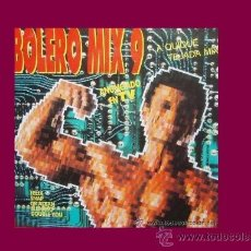 Discos de vinilo: BOLERO MIX 9-DOBLE LP -A QUIQUE TEJADA MIX BLANCO Y NEGRO 1992. Lote 18853872