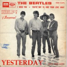 Discos de vinilo: SINGLE - THE BEATLES -