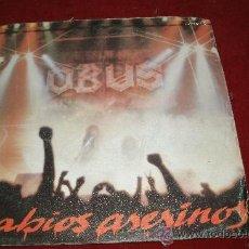 Discos de vinilo: OBUS. LABIOS ASESINOS. SINGLE VINILO. CHAPA DISCOS. 1983. HEAVY ESPAÑOL.. Lote 32469230