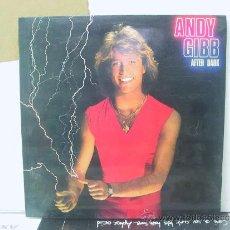 Discos de vinilo: ANDY GIBBS - AFTER DARK - EDICION ESPAÑOLA - RSO 1980. Lote 32474054