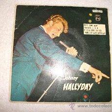 Discos de vinilo: JOHNNY HALLYDAY / WAP DOU WAP / PHILIPS 1963 EDICCION ESPAÑOLA. Lote 32474145