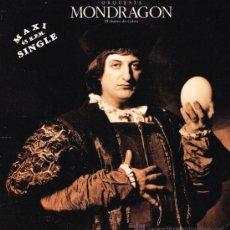 Discos de vinilo: ORQUESTA MONDRAGÓN - EL HUEVO DE COLÓN (2 VERSIONES) - MAXISINGLE 1992. Lote 32476766