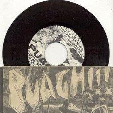 Dischi in vinile: EP RPM / PUAGH / HOMBRES SALVAJES BESTIAS SALVAJES // EDITADO POR XANCA RECORDS. Lote 32477985