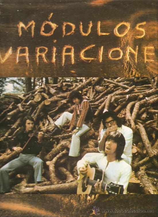 LP MODULOS : VARIACIONES (Música - Discos - LP Vinilo - Grupos Españoles de los 70 y 80)
