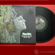 Discos de vinil: AMALIA RODRIGUES LP GOSTAVA DE SER QUEM ERA 1980 EMI COLUMBIA – 11C 078-40533 PORTADA DOBLE CON LI. Lote 32483432