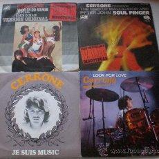 Discos de vinilo: CERRONE, LOTE 4 SINGLES 7. Lote 166058470