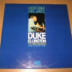 Discos de vinilo: LP DUKE ELLINGTON Y SU GRAN ORQUESTA EN EL COTTON CLUB .GRAMUSIC 1974 SPAIN. Lote 32490063