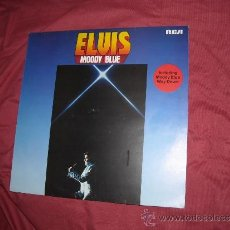 Discos de vinilo: ELVIS PRESLEY ( MOODY BLUE ) LP 1977 RCA – PL 12428 - GERMANY VER FOTO ADICIONAL. Lote 32502228