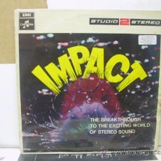 Discos de vinilo: IMPACT - DAVID ROSE AND HIS ORCHESTRA / NORRI PARAMOR / PEPE JARAMILLO... - ORIGINAL U.K. - COLUMBIA. Lote 121928380