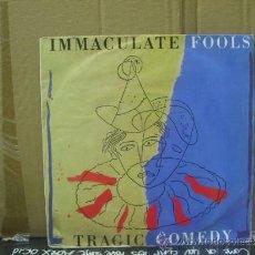 Discos de vinilo: IMMACULATE FOOLS - TRAGIC COMEDY / DUMB POET ( LIVE ) - EDICION ESPAÑOLA - AM 1987 . Lote 154370742