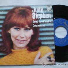 Discos de vinilo: JUDY STEPHEN PEPE NIETO.- GOOD-BYE CHARLIE, SINGLE 7 SPAIN, NUEVO PORTADA/POSTER VER FOTO, MUY RARO. Lote 36713137
