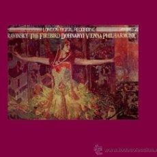 Discos de vinilo: STRAVINSKY DISCO LP. Lote 9358757