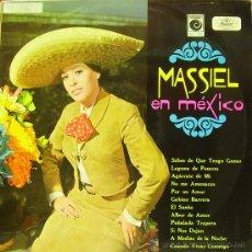 Discos de vinilo: MASSIEL-EN MEXICO LP 1970 PROMOCIONAL SPAIN. Lote 32525479