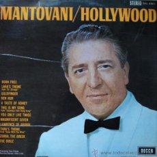 Discos de vinilo: MANTOVANI - HOLLYWOOD - EDICIÓN DE 1967 DE ESPAÑA. Lote 32525869