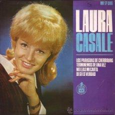Discos de vinilo: EP-LAURA CASALE-HISPAVOX 17306-1964. Lote 32528331