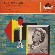 Discos de vinilo: EP-LALE ANDERSEN-LILI MARLEN-POLYDOR 20615-ESPAÑA-TRI CENTER. Lote 32528354