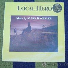 Discos de vinilo: LOCAL HERO - HÉROE LOCAL- VERTIGO 1983. Lote 32533054