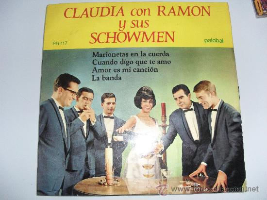 CLAUDIA Y SUS SHOWMEN - MARIONETAS EN LA CUERDA + 3 EP 1967 (Música - Discos de Vinilo - EPs - Grupos Españoles 50 y 60)
