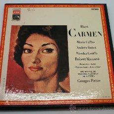 Discos de vinilo: ÓPERA CARMEN, BIZENT. . Lote 32549819