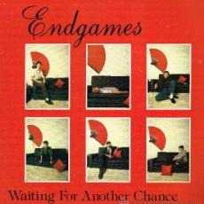 Discos de vinilo: ENDGAMES - WAITING FOR ANOTHER CHANCE / UNIVERSE - MAXISINGLE 1983. Lote 32550795